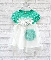 bohemian clothes - Summer Hot sell baby dress kids wear Princess dress kids clothing girl wear children apparel colors