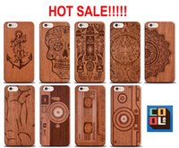 bamboo for sale - Online Hot Sale Natural Engrave Pattern Wooden Bamboo Hard Wood Case Cover Protect Phone Cases for iPhone s iPhone s plus for Samsung
