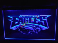 Wholesale LD054 b Philadelphia Eagles Football Neon Light Sign home decor shop crafts led sign