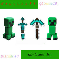 Wholesale New creative Minecraft weapons USB phone drives GB GB U disk Minecraft dolls Minecraft creeper U Disk Minecraft USB Disk LJJD1265