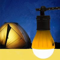 Wholesale 10 Outdoor Portable Hanging LED Camping Lamp Light Lantern Tent Light Bulb Fishing Lantern Lamp Torch OUT_169