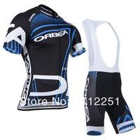 ¡NUEVO! 2014 ORBEA Team jersey de ciclismo/ ciclismo ropa/ ciclismo desgaste corto (bib) traje-ORBEA-1D Envío Gratis