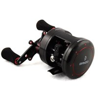 Wholesale 9 BB ROUND DRUM REEL right hand drum TROLLING REEL BANDO original metal BOAT fishing reel BLACK embellished with RED