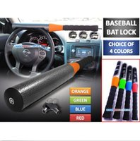 Wholesale Universal Car Baseball Bat Style Steering Wheel Locks for Security and Defense Brand New Good Quality