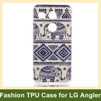animal wind chimes - Cartoon Tribe Animal Elephant Owl Bear Cat Flower Wind Chime Soft Gel TPU Cover Case for LG Nexus X Angler Drop Shipping