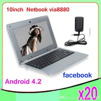 Wholesale DHL quot LCD Touch android Mini Netbook Laptop ZY BJ