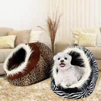 Wholesale New Arrival Dog Bed Dog House Winter Warm Pet House Pet Bed Soft Bed For Puppy High Quality Dog Kennel