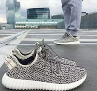 Cheap Originals Yzy boost 350 Turtle Dove Grey Low Outdoor Shoes New sneaker fasion Basketball YEEZYs Discount Sport Footwear free shipping size 8