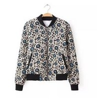 Wholesale new Quilting printing down coat jacket feather padded coat women cotton padded clothes outwear Z5534