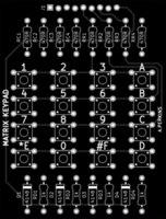 batch pcb - FR Custom PCB BOARD Small batch PCB manufacturer matrix keypad board x6 cm L random of color experiment test board
