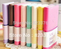 Wholesale DHL New Cute Smiley Diary Sweet Candy Notebook Memo Notepads Fashion Kids Gifts