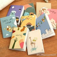 Wholesale New Arrival Hot Sale Cartoon Little Notebook Handy Notepad Paper Notebook Journal Diary Drop Shipping HG282 A5