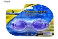 Wholesale Goggles Water Sports Men and Women Silica Gel Waterproof mirror swimming glasses
