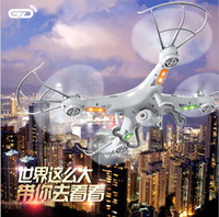 Wholesale Version SYMA X5C X5C GHz CH HD FPV Camera Axis RC Helicopter Quadcopter Gyro GB TF Card with MP Camera RM475