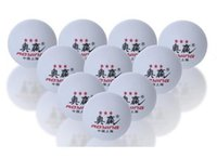Wholesale Big Big mm Stars Best Table Tennis Balls PingPong Balls white