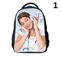 Wholesale violetta Jersey Girl School Bags violetta Jersey Girl backpacks violetta Jersey Girl Schoolbags D Leisure backpacks For Children H0623