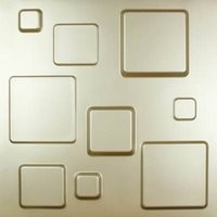 bathroom wall tile panels - Glossy D panel plate vinyl mosaic wall tile stereoscopic board wallpaper for home door decoration TV backdrop kitchen bathroom