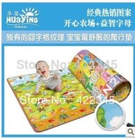 abc puzzle mats - Baby ABC play Climb mat Blanket Creeping Puzzle Pad Crawling Mat Green Size Meter cm Thickness