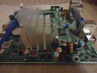 atom tests - HP original motherboard H I945 ITX ATOM G Mini ITX desktop mainboard DDR2 tested working