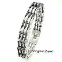 Wholesale Tourmaline Energy Balance Bracelet Tourmaline Bracelet Health Care Jewelry For Women Germanium Magnetic Bracelets Bangles BB433