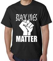 Cheap Wholesale-Free Shipping mens t shirts fashion 2015 Black Lives Matter T-Shirts AVAIL! ERIC GARNER-MICHAEL BROWN-PROTEST 100% cotton tshirt
