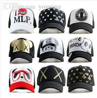 big bear sky - New brand Big Stars swag baseball snapback caps hiphop sport hats cap female letter MLP MIKEY panda bear hat