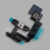 air switch button - for iPad air for iPad Power Button On Off Key Switch Transmitter Microphone Flex Cable Replacement Part