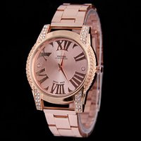 Cheap Hot sell style standard Quality Japan Movement Classic Metal Watch+ 2 colors available
