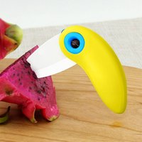abs activities - Piece Bird Shaped ABS and Ceramic Folding fruit or vegetable Knife Kitchen Outdoor Outdoor Activities Camping Home Necessary