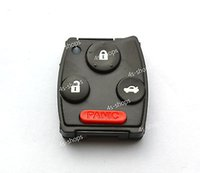 honda accord - car Reserve Button Pad Electronic Holder Key Head For Honda Accord Pilot Buttons Remote Case Shell Fob