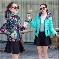 Wholesale 2015 Cheap Top Quality Women Down Jacket New Fashion Lady Both Sides Wear Winter Down Parkas