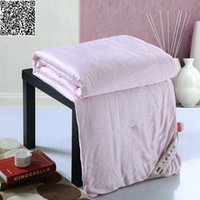 Wholesale 1 kg Mulberry silk Comforter pink color Duvet summer Quilt handmade natural Silk Throws Blanket