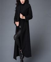 argyle pieces - Original fashion Suit collar color long mink coat style dress Extended ladies winter one piece dress