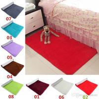plush carpet - New Arrivals Bathroom Carpets Foam Rug Floor Mat Absorbent Soft Non slip Bottom Plush CM JN5
