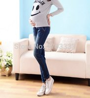 Wholesale Maternity Jeans trousers autumn and winter clothes New Korean Maternity Siknny Pants pencil pants