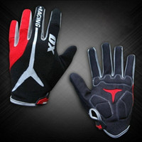 finger bike - New GEL Bike Bicycle Gloves Men s Full Finger Cycling Biking Racing Gloves Luvas M L XL Size
