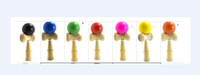 Wholesale very cheap mix Colors Available CM Kendama Toy Japanese Traditional Wood ball Game Toy Education Gifts