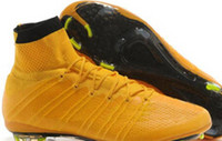 ball band shoes - Soccer Shoes FG Laser Orange White Black Football Shoes Ball Sport Boots Man Soccer Cleats Footwear Cleats Athletics Boots Trainer