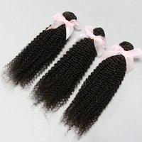 Cheap Hot Beauty Hair!4 bundles 6A Unprocessed Hair Extensions kinky Curly Brazilian Malaysian Peruvian Indian Virgin Human Hair Weaves DHL