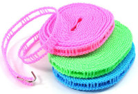 Wholesale Outdoor Travel Business Clothesline Laundry Non slip Washing Clothes Line Rope