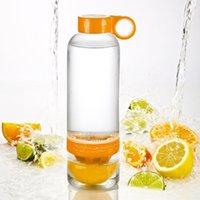 Wholesale Citrus Zinger Fruit Infusion Water Bottle Lemon cup