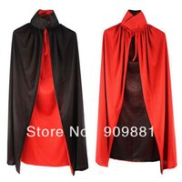 adult smock - New CM Classic Halloween Costumes Unisex Polyester Adult Sexy Cosplay Cloak Vampire Cape Magic Wizard Dress Smock