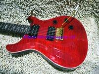 OEM Guitars Guitarra eléctrica de la guitarra eléctrica de la guitarra eléctrica de la llama roja más nueva OEM