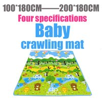 floor pads - Baby Plat Gym Play Crawling Mat Rug Activities Puzzle Carpet Education Blanket Game Pad Soft Floor Products for Kids BY EMS