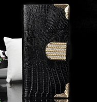 rhinestone cell phone cover - Iphone s Case Luxury Flip Leather Rhinestone Hasp Wallets Card Slots Cover for Apple iphone5 g Smart Cell Phone Wallet Cases Skin Hot