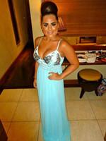 aqua maxi dress - 2015 Hot sale Quiz Aqua Turquoise Maxi Dress With Jewels gorgeous Size Prom Bridesmaid