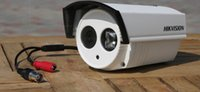 Cheap Hikvision DS-4C-I 600TVL high resolution 3.6mm Lens 40m IR Distance IP66 rating Weatherproof Camera
