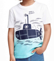baby clothes pack - Xayakids boy casual dress new summer T shirt cotton short sleeved T shirt Boy Scout Pack factory direct cartoon T shirt baby clothes