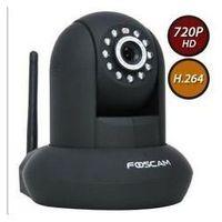 Wholesale Genuine Foscam black FI9821W New HD H webcam Pan Tilt SD Card Ip camera IP Security Camera IR HD EMS FREE SHIP