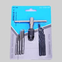 Wholesale PC mm Metric Right Hand Thread Taps Set with T handle Wrench